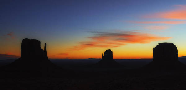 The Mitten Photograph - Monument Valley Sunset by Priscilla Burgers