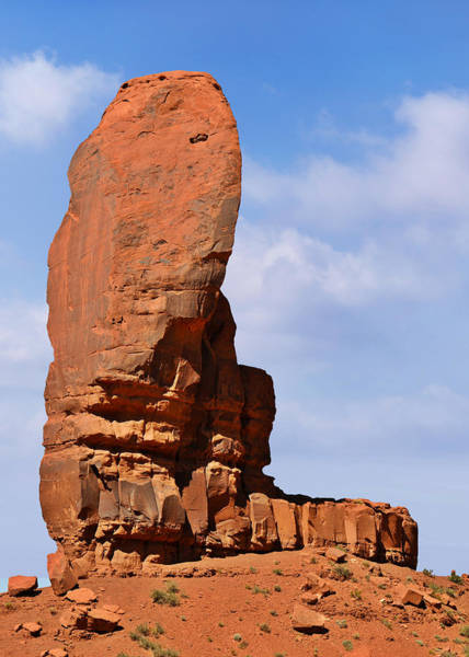 Photograph - Monument Valley - The Thumb by Christine Till