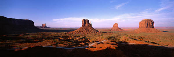 Red Bluff Photograph - Monument Valley Tribal Park, Arizona by Panoramic Images