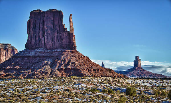 Photograph - Monument Valley Ut 3 by Ron White