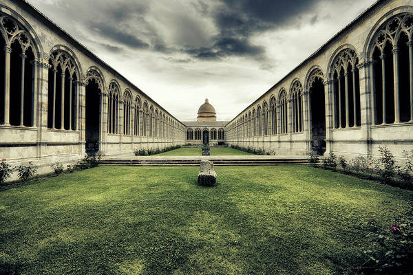 Famous Cemeteries Photograph - Monumentale Cemetery Of Pisa by Massimo Merlini