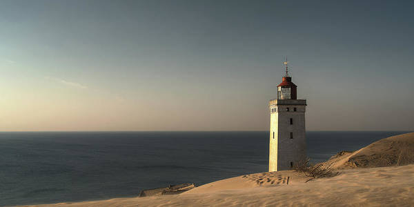 Lighthouse Photograph - Mood At The Lighthouse by Leif L?ndal