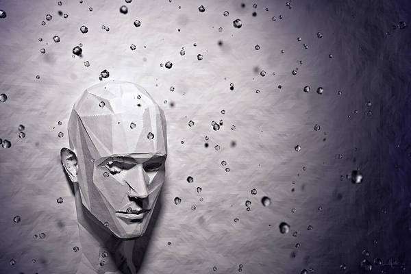 Digital Art - Mood Indigo by Matt Lindley