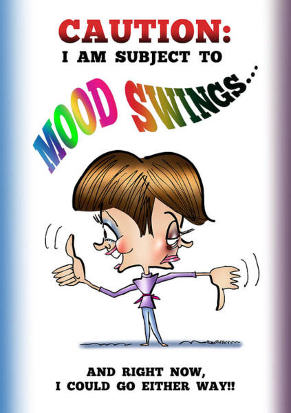 Mood Swings Art Print