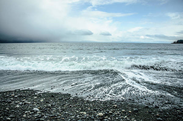 Photograph - Moody Waves French Beach by Roxy Hurtubise