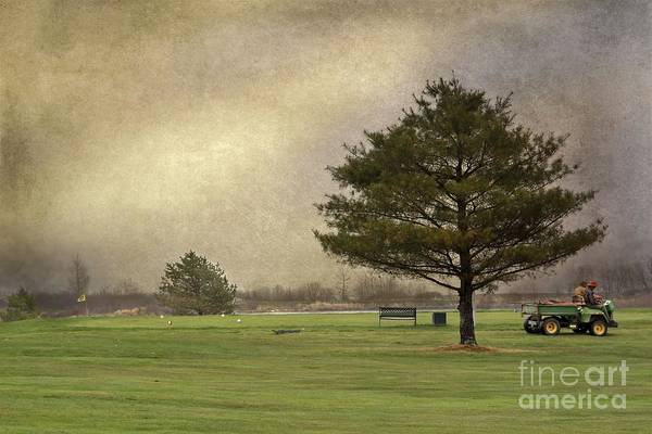 Photograph - Moody Golf Day by Karin Pinkham