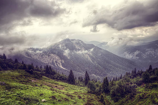Photograph - Moody Mountains by Ryan Wyckoff