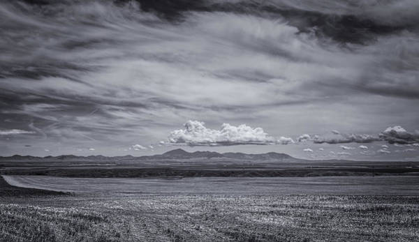 Photograph - Moody Mountains by Thomas Young