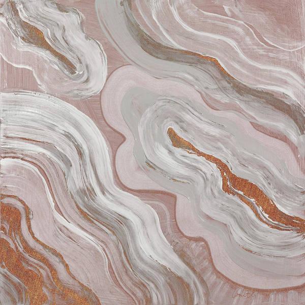 Moody Painting - Moody Orange Agate by Lanie Loreth