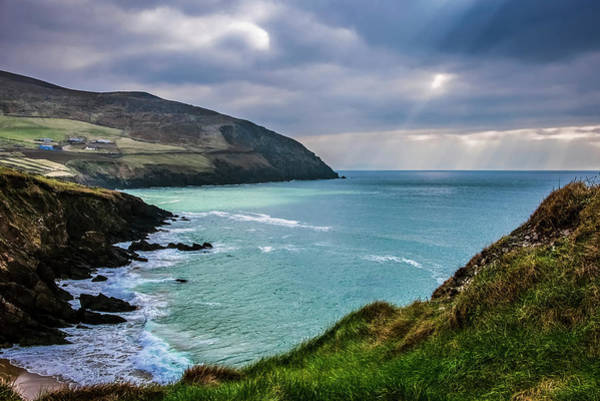 Wall Art - Photograph - Moody Weather At Slea-head by Leah Bignell