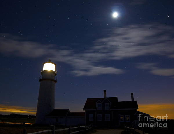 Photograph - Moon And Stars by Amazing Jules
