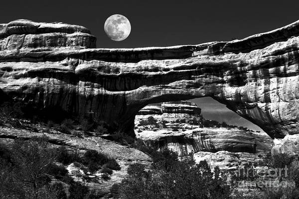 Wall Art - Photograph - Moon Arch by Paul W Faust -  Impressions of Light