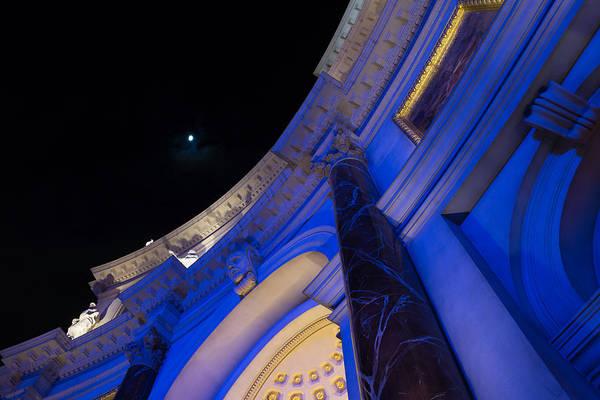 Photograph - Moon At The Forum by Georgia Mizuleva
