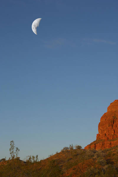 Photograph - Moon Cliff by Dennis Galloway