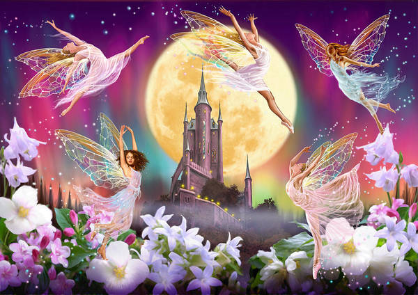 Mythical Photograph - Moon Dance by MGL Meiklejohn Graphics Licensing