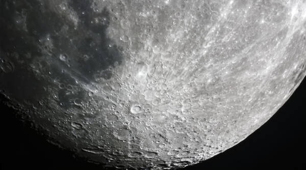 Photograph - Moon Hi Contrast by Greg Reed