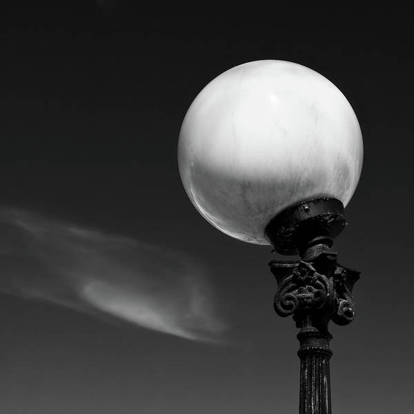 Orb Photograph - Moon Light by Dave Bowman