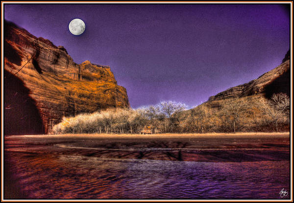 Photograph - Moon Over Dechelly by Wayne King