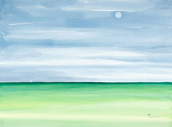 Painting - Moon Over Islamorada by Michelle Constantine