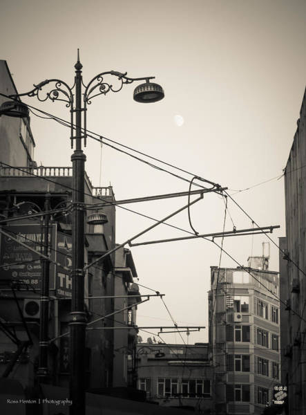 Photograph - Moon Over Istanbul - For Eugene Atget by Ross Henton