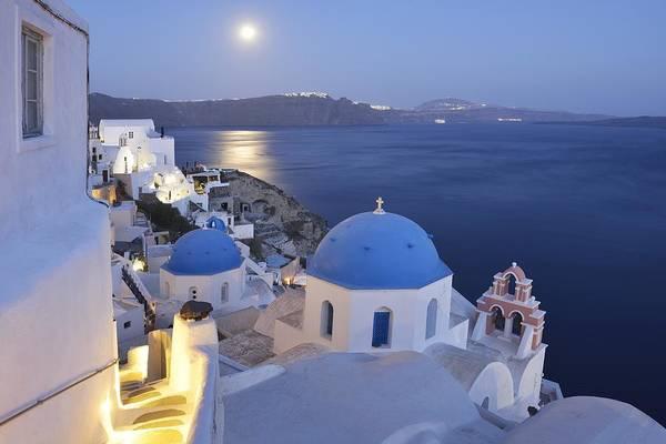 Wall Art - Photograph - Moon Over The Island by Christian Heeb
