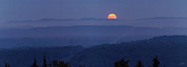 Photograph - Moon Rise    by Doug Gibbons