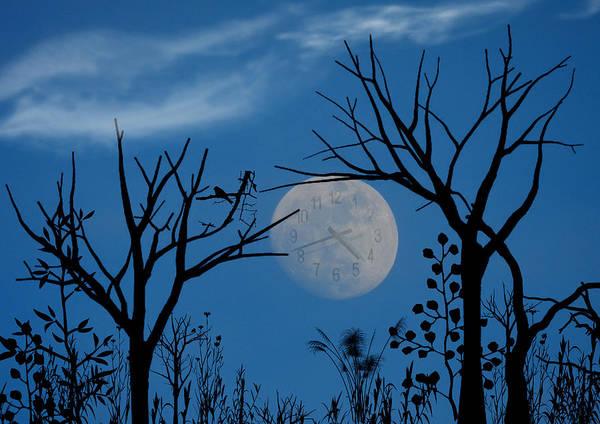 Photograph - Moon Time by Grace Dillon
