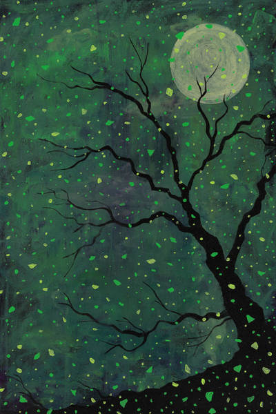 Painting - Moonchild by Joel Tesch
