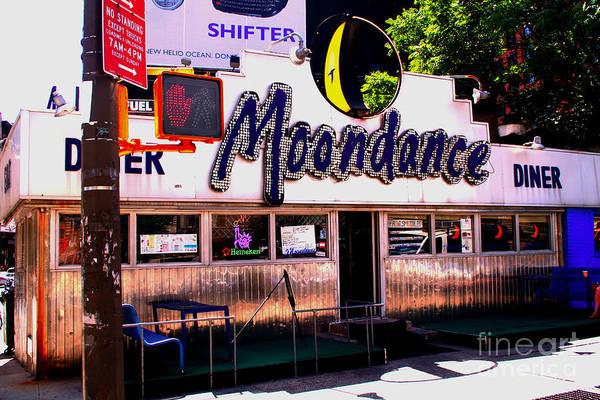 Photograph - Moondance Diner  by Steven Spak