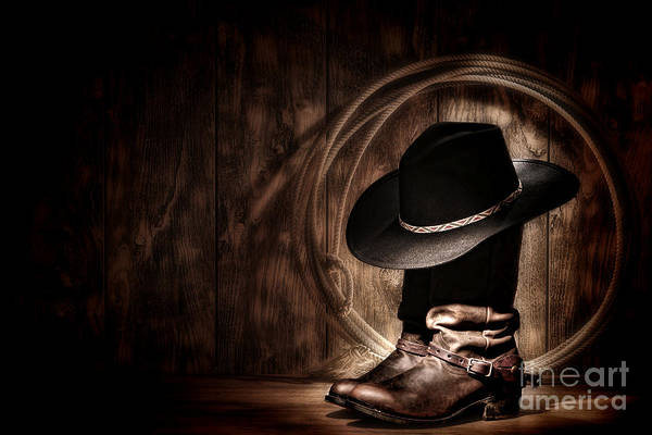 Diffuse Photograph - Moonlight Cowboy by Olivier Le Queinec