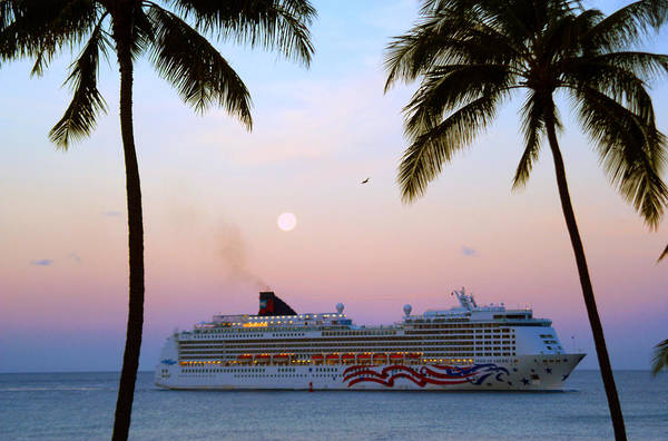Wall Art - Photograph - Moonlight Cruise In Paradise by Kevin Smith