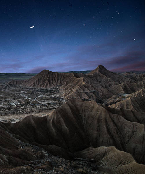 Universe Photograph - Moonlight by I?igo Cia