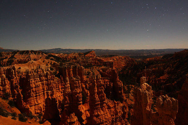 Photograph - Moonlight In Bryce Canyon by Jean Clark