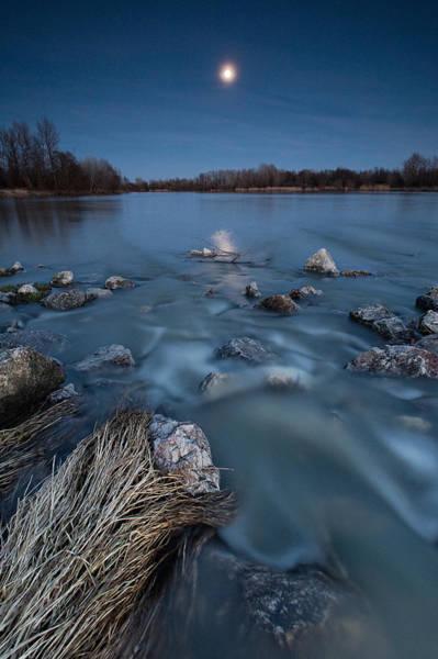 Moonscape Photograph - Moonlight Sonata by Davorin Mance