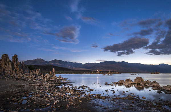 Photograph - Moonlight Tufa by Cat Connor