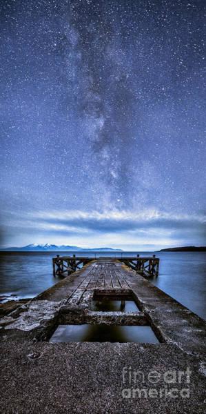 Ayrshire Photograph - Moonlit Milky Way by John Farnan