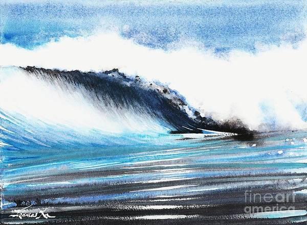 Painting - Moonlit Ocean by Frances Ku