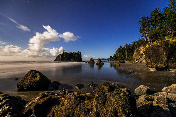 Olympic Peninsula Photograph - Moonlit Ruby by Chad Dutson