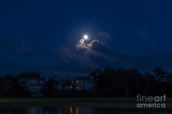 Photograph - Moonlit Sky by Dale Powell