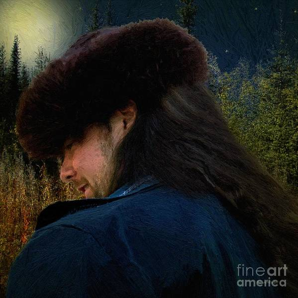 Painting - Moonlit Walk by RC DeWinter