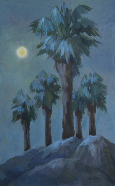 Full Moon Painting - Moonrise 2 by Diane McClary