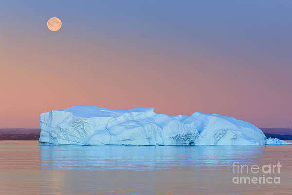 Meijer Wall Art - Photograph - Moonrise At Hall Bredning by Henk Meijer Photography
