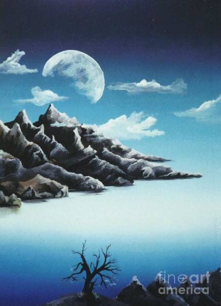 Painting - Moonrise by David Neace