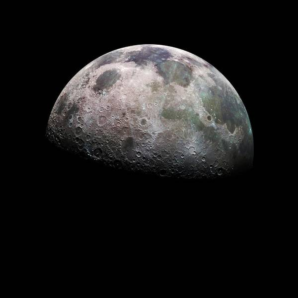 Imagery Photograph - Moon's Northern Hemisphere by Nasa/science Photo Library