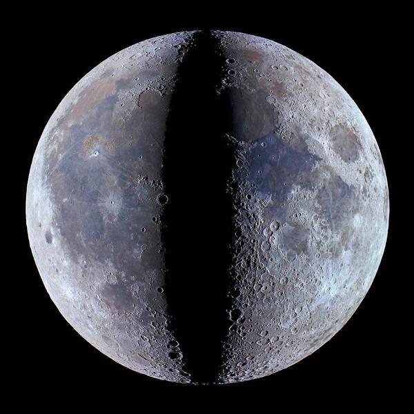 Division One Wall Art - Photograph - Moon's Phases by Babak Tafreshi