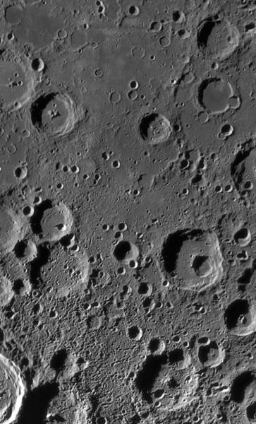 Big Basin Photograph - Moon's South Pole-aitken Basin by Science Photo Library