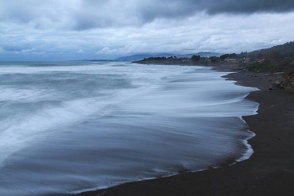 Photograph - Moonstone Beach Surf 2 by Jim Moss