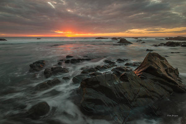 Photograph - Moonstone Beach  Moment.... Cambria by Tim Bryan