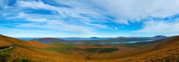 Moorland Photograph - Moor Landscape Of Coomanaspig Pass by Panoramic Images