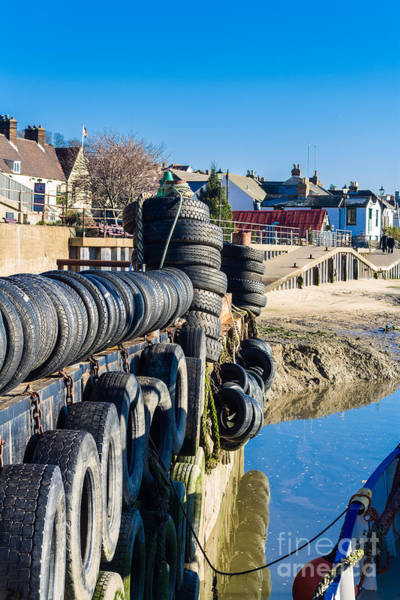 Leigh On Sea Photograph - Moorings by Peter Smith